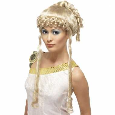 Goedkope  Aphrodite pruik blond