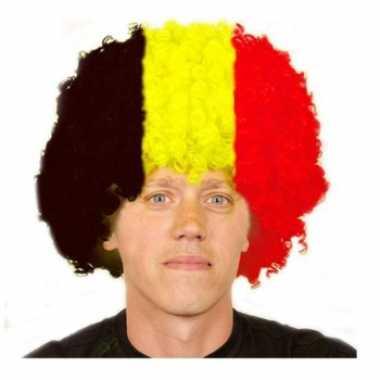 Goedkope  Belgische afro pruik