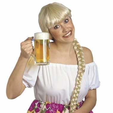Goedkope bierfeest pruiken dames helga