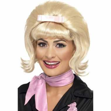 Goedkope  Blonde bobline pruik jaren
