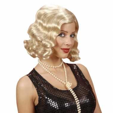 Goedkope  Blonde jaren damespruiken