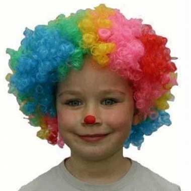 Goedkope  Clowns pruiken kinderen