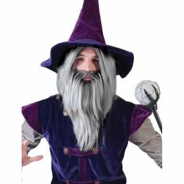 Goedkope  Gandalf pruik baard