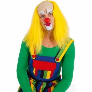 Goedkope  Gele clown pruiken
