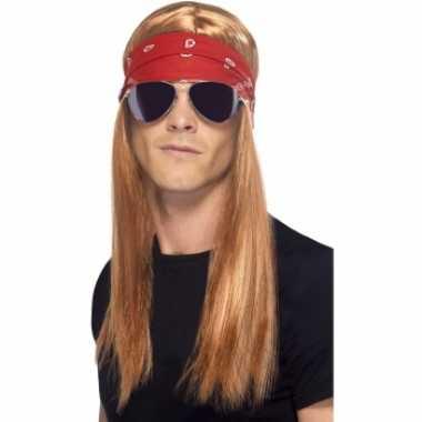 Goedkope  Guns n Roses look-a-like pruik