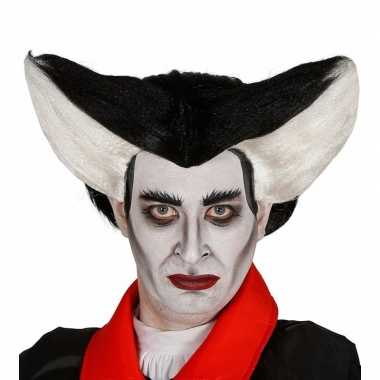 Goedkope halloween puntige vampierenpruik heren