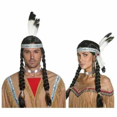 Goedkope  Indianenpruik volwassenen