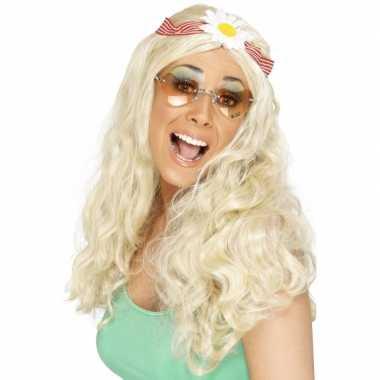 Goedkope jaren hippie pruik haarband