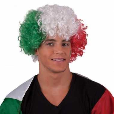 Goedkope krullen pruik italie of hongarije