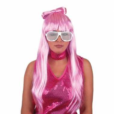 Goedkope  Lady Gaga popster pruik