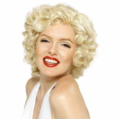 Goedkope  Marilyn Monroe verkleed pruik