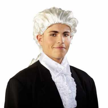Goedkope  Mozart pruik staart
