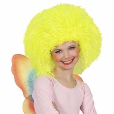 Goedkope  Neon gele kinder afropruiken