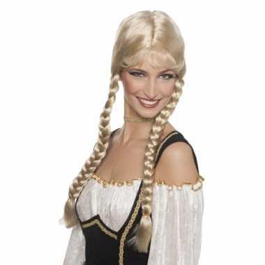 Goedkope  Oktoberfestdamespruik blond