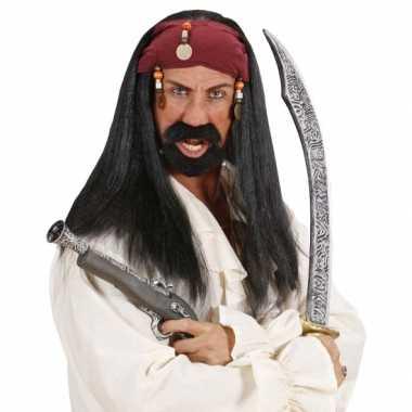 Goedkope  Piraten pruiken mannen