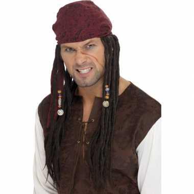 Goedkope  Piraten pruiken Sparrow