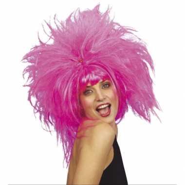 Goedkope  Roze feest damespruiken