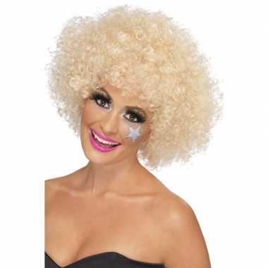 Goedkope s afropruik blond dames