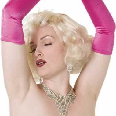 Goedkope  Sixties damespruik blond