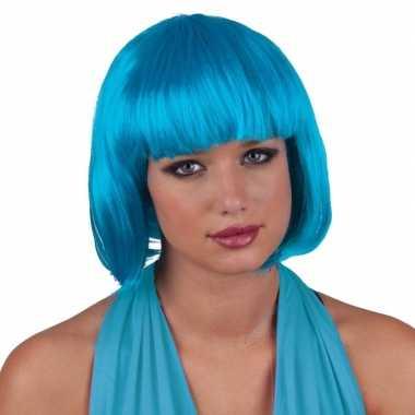Goedkope  Turquoise pruiken vrouwen