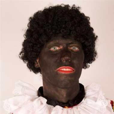 Goedkope  Zwarte Piet pruik dames heren