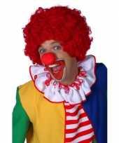 Goedkope rode clownspruiken