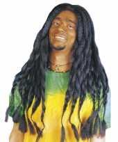 Goedkope zwarte hippiepruik dreads